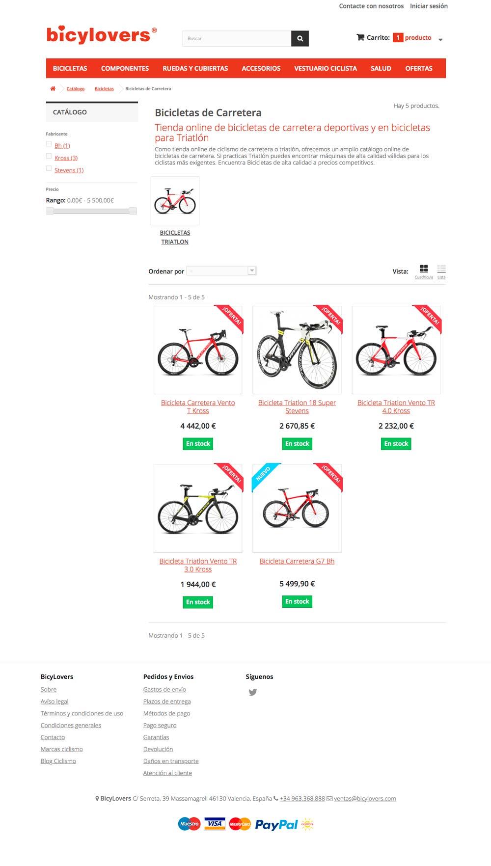 desarrollo-web-bicylovers-listado-productos